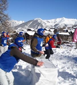 Studentenkampioenschappen Yukigassen @ Snowevent 2009
