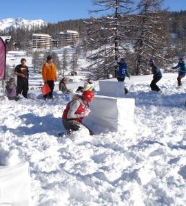 Studentenkampioenschappen Yukigassen @ Snowevent 2011