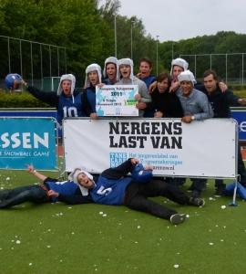 Merk Activatie voor AGIS TakeCareNow tijdens  het Groot Nederlands Studenten Kampioenschap